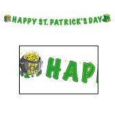 Happy St Patrick's Banner 5ft x 5""