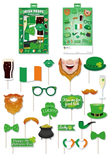 St Patrick's Day Photo Booth Kit