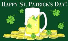 St Patrick's Day Flag 5ft x 3ft