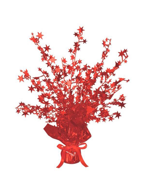 Star Gleam 'N' Burst Centrepiece Red (Quantity 1)