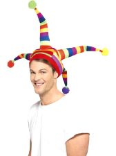 Striped Jester Hat