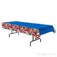 International Flag Table Cloth