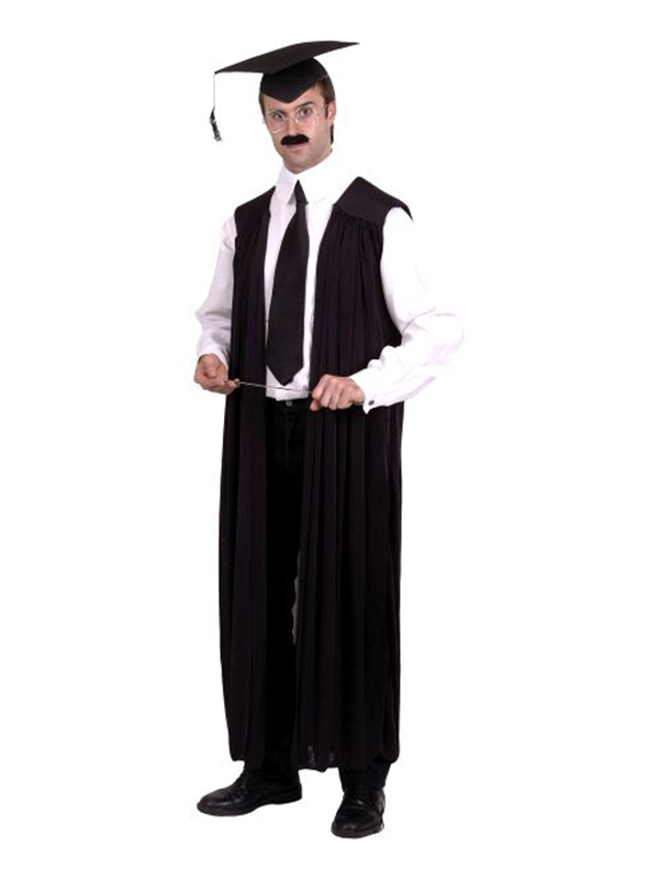 Teachers Black Gown with Hat