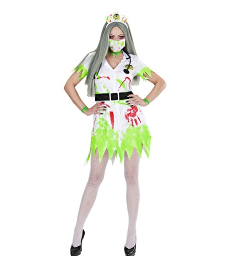 Toxic Nurse Costume