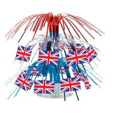 Union Jack Mini Cascade Centrepiece