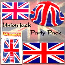 Union Jack Street Party Decoration Pack - Small