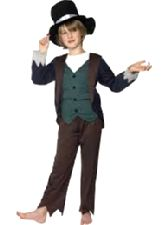 Victorian  Poor Boy Costume, Size's  S, M & L