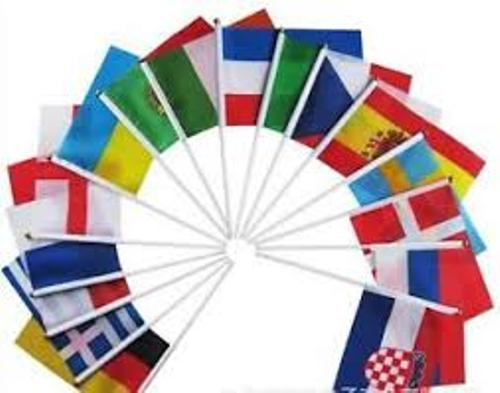 World Cup Hand Waving Flag 32 Countries Pack