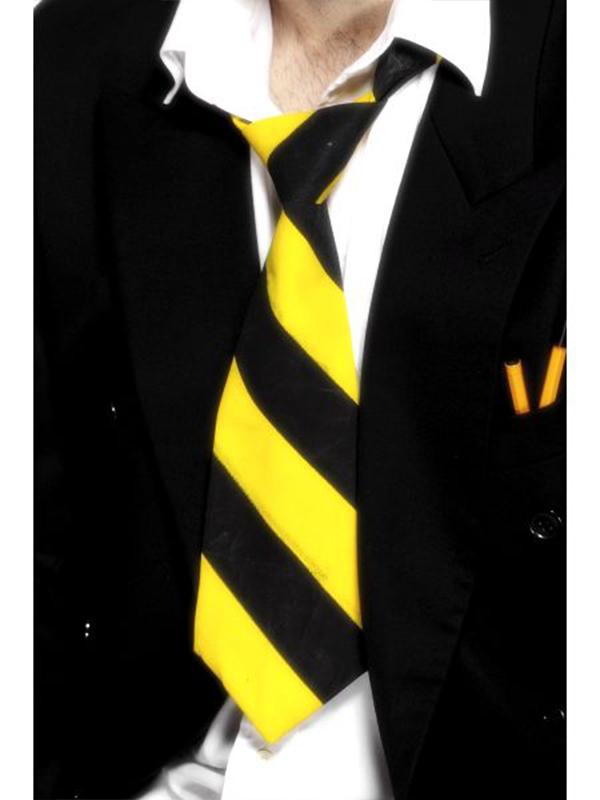School Tie - Yellow & Black (Quantity 1)
