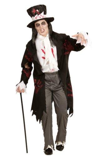 Zombie Groom Costume 1234