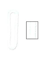 Soft-Twist Poly Leis - White (1)