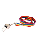 Whistle on Rainbow Cord