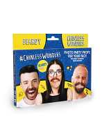 Beardy Chinless Wonders Face Mats