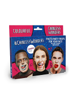 Colourfull Chinless Wonders Face Mats