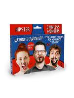 Hipster Chinless Wonders Face Mats