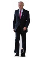 Joe Biden Lifesize Cardboard Cutout with Free Mini Standee