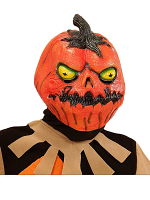 Horror Pumpkin Full Head Mask for Child