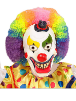 Clown Half Face Foam Latex Mask - Child