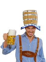 Beer Keg Hat