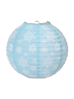 Snowflake Paper Lanterns