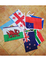 Rugby World Cup 2019 bunting (20 Flags size 18″ x 12″)