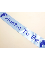 Auntie To Be Sash - Blue