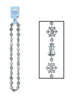 "Snowflake Beads 36"""