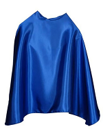 Blue Super Hero Cape