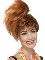 80's Side Ponytail Wig
