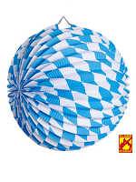 Bavarian Oktoberfest Paper Ball Decoration