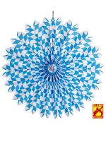 Bavarian Oktoberfest Paper Fan Decoration