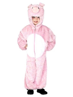 Pig Costume Age 4-6 Jumpsuit with Hood