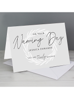 Personalised 'Truly Blessed' Naming Day Card