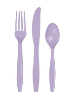 Lavender Cutlery