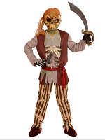 Ghost Ship Pirate Boy Costume