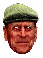Prince Philip with Hat Face Mask