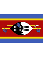 Swaziland Flag 5ft x 3ft