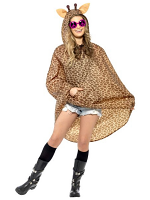 Giraffe Party Poncho