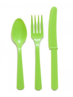 Lime Green Cutlery