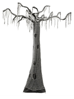 Haunted Hanging Halloween Tree