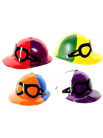 Jockey Caps with Goggles