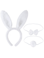Bunny Ears with Tail and Bow