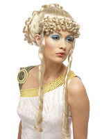 Greek Goddess Wig ,Blonde