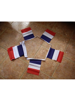 6m 20 flag France Bunting