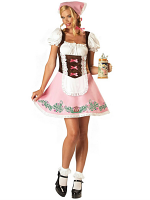 Bavarian Girl Costume 12345