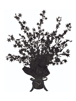 Star Gleam 'N' Burst Centrepiece Black (Quantity 1)