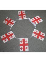 6m 20 flag Georgia bunting (country)