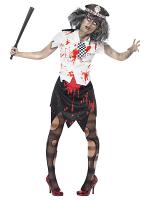 Zombie Policewoman Costume