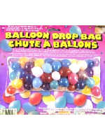 "Clear Balloon Drop Bag Measures 80"" Long X 36"" Wide.(Qty per unit: 1)"