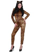 Leopardessa (Jumpsuit Choker Ears)